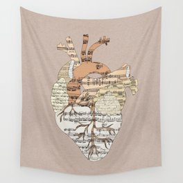 Sound Of My Heart Wall Tapestry