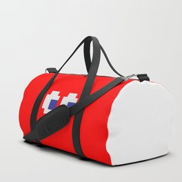 Retro Game Ghost Duffle Bag