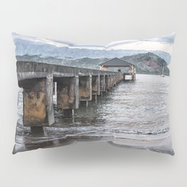 Hanalei Pier Kauai  Pillow Sham