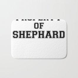 Property of SHEPHARD Bath Mat