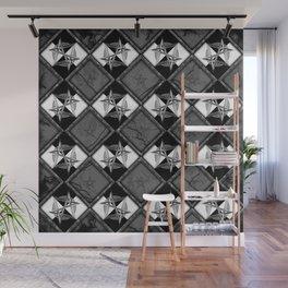 Unicursal Penta Pattern Wall Mural