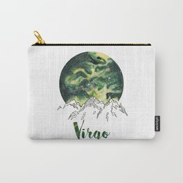 Virgo Watercolour Painting Carry-All Pouch