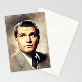 Sir Laurence Olivier, Actor Stationery Cards