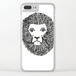 Lion Clear iPhone Case