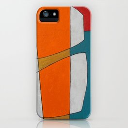 The Daily Abstract Art Print iPhone Case