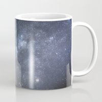 milky way Mugs featuring Milky Way by Astrophotos by McLeod
