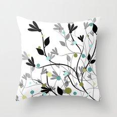 Blissful Breeze Throw Pillow