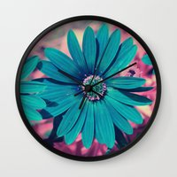 strong Wall Clocks featuring Strong by J's Corner