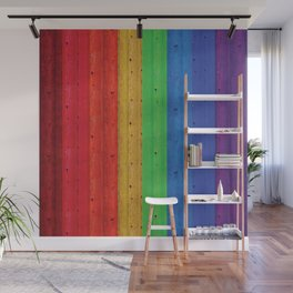 Colours Of The Rainbow Wall Mural