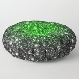 galAxy. Stars Lime Green Floor Pillow