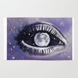 moony eye Rug