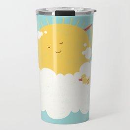sun-bathing Travel Mug