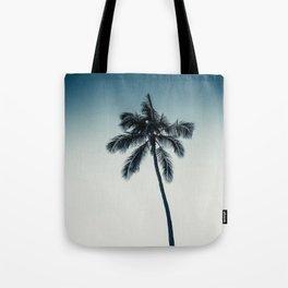 palm tree ver.darkgreen Tote Bag