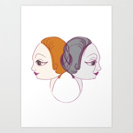 Young&Old Art Print