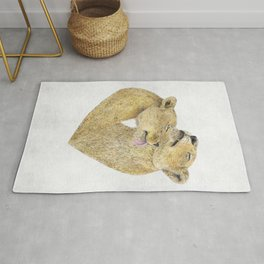 Lioness Lovers Rug