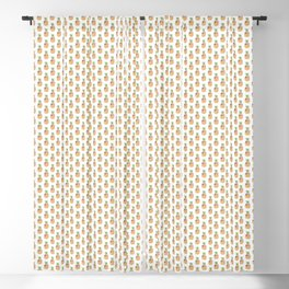 Funny 4th Of July US Flag Pineapple Blackout Curtain
