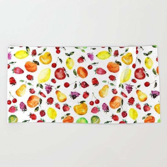 Tutti-frutti Beach Towel