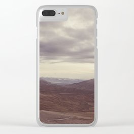 Cardrona Valley Clear iPhone Case
