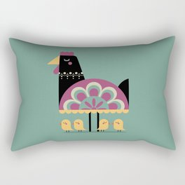 Young Bird Rectangular Pillow
