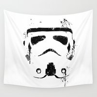 trooper Wall Tapestries featuring Trooper by Purple Cactus
