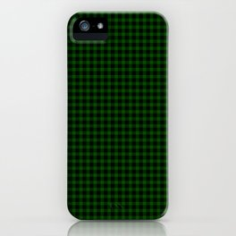 Gunn Tartan iPhone Case