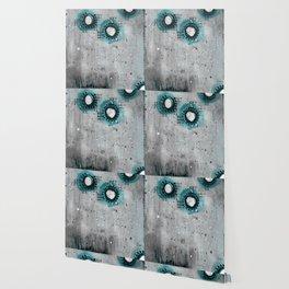 Charcoal Circles Wallpaper
