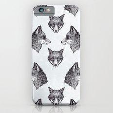 Mrs Fox Design B&W Slim Case iPhone 6s