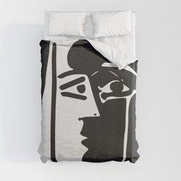 Pablo Picasso Kiss 1979 Artwork Reproduction For T Shirt, Framed Prints Duvet Cover