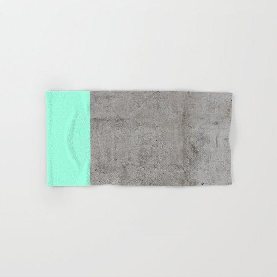Sea on Concrete Hand & Bath Towel