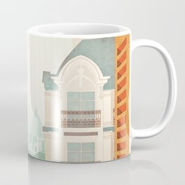 Paris, France - Travel Poster Coffee Mug