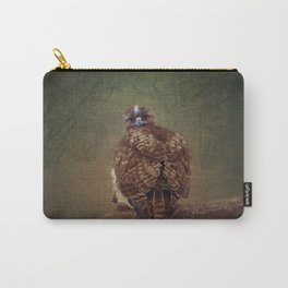 Young Red Tail Hawk Carry-All Pouch