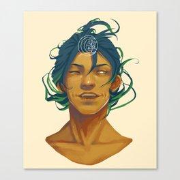 Moon thief Canvas Print