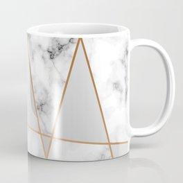 Copper smokey marble geo Coffee Mug