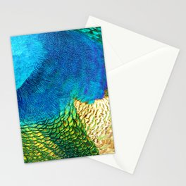 Colors of the Peacock Stationery Cards