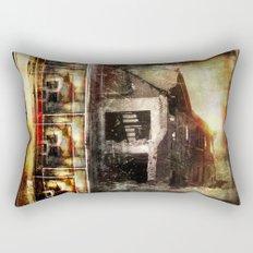 False Sunrise Rectangular Pillow