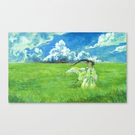 August - Indication of rain - Canvas Print