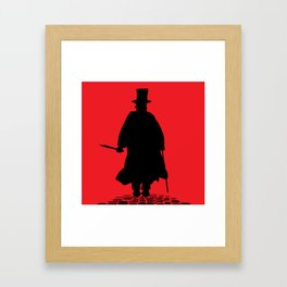 Jack The Ripper Framed Art Print