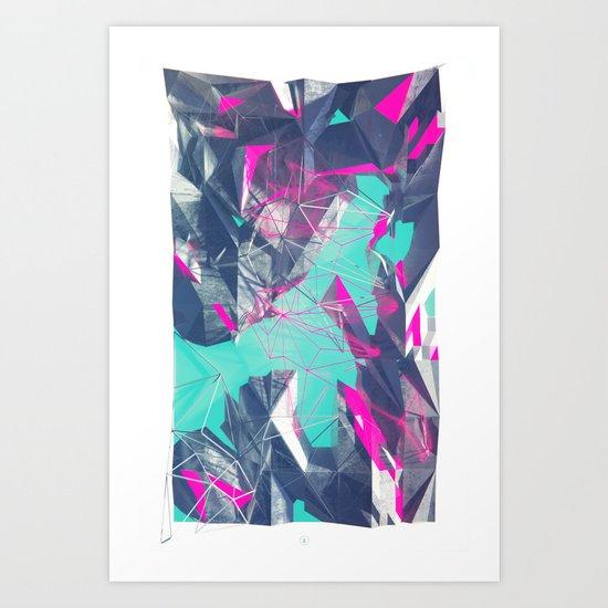 NEON SWMP Art Print