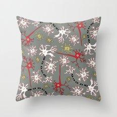 Neuron Nerd Throw Pillow