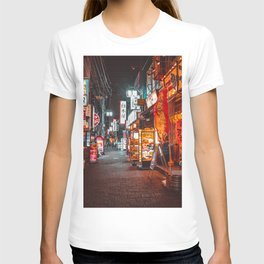 Warmth of Neon Tokyo Signs T-shirt