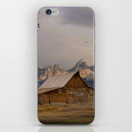 Grand Teton National Park - Mormon Row Moulton Barn iPhone Skin