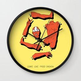 LOOKS LIKE FRIED CHICKEN Wall Clock