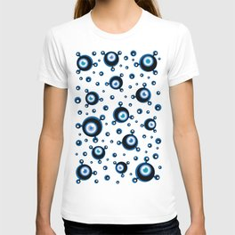 Justified Paranoia Blue T-shirt
