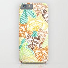 Yellow Garden  iPhone Case