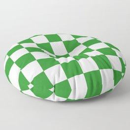 Checker (Forest Green/White) Floor Pillow