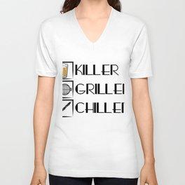 Killer Griller Chiller Beer Unisex V-Neck