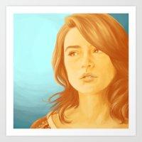 allison argent Art Prints featuring Allison Argent, Color Palette #34 by andavs