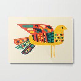 Century Bird Metal Print