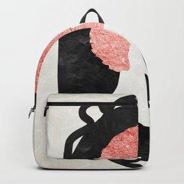 Rose Gold Hair Backpack