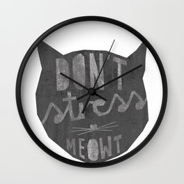 No Stress Wall Clock
